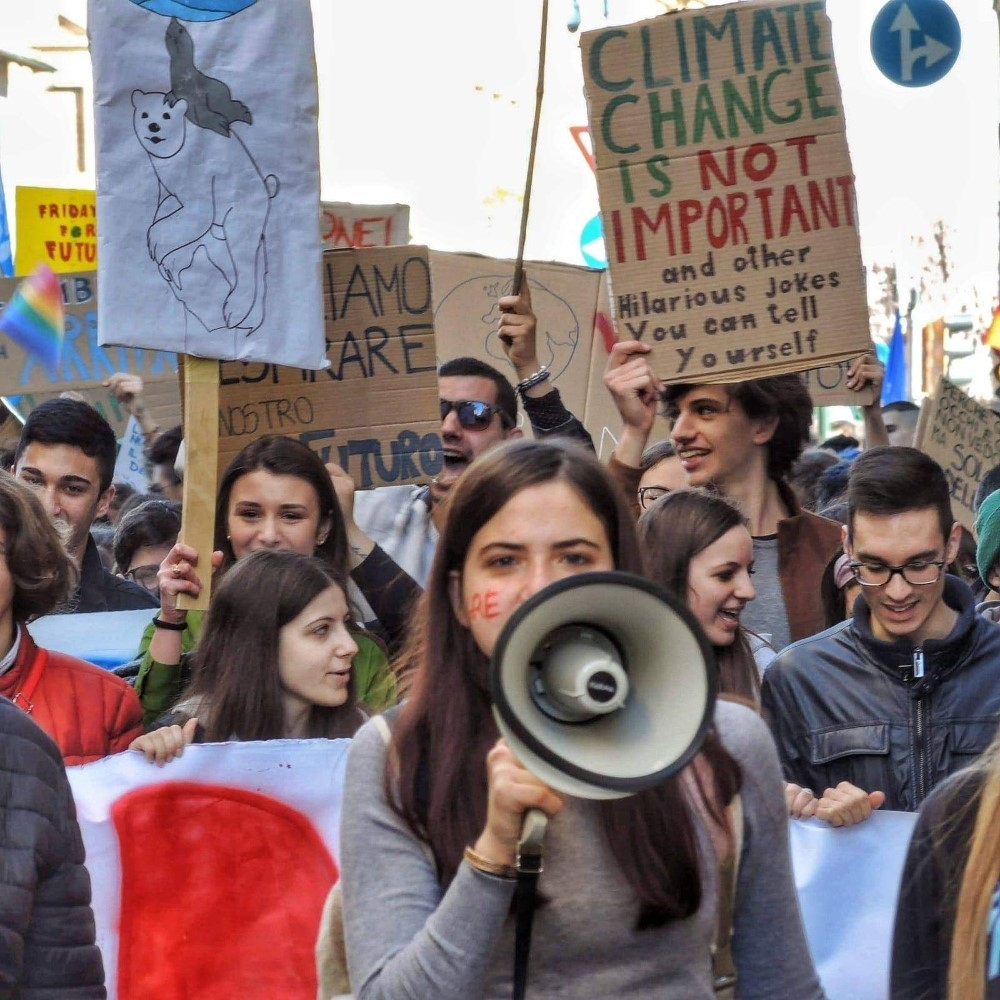sciopero per il clima pavia