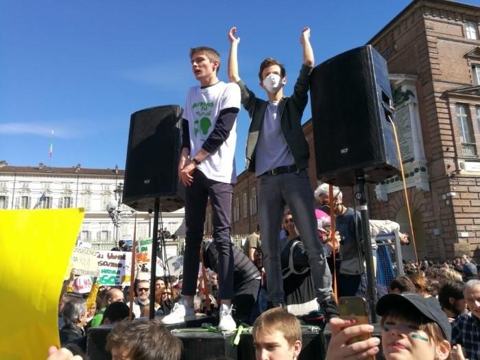 sciopero per il clima-torino (2)