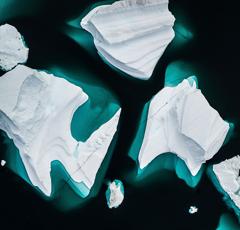 cambiamenti climatici ghiacci