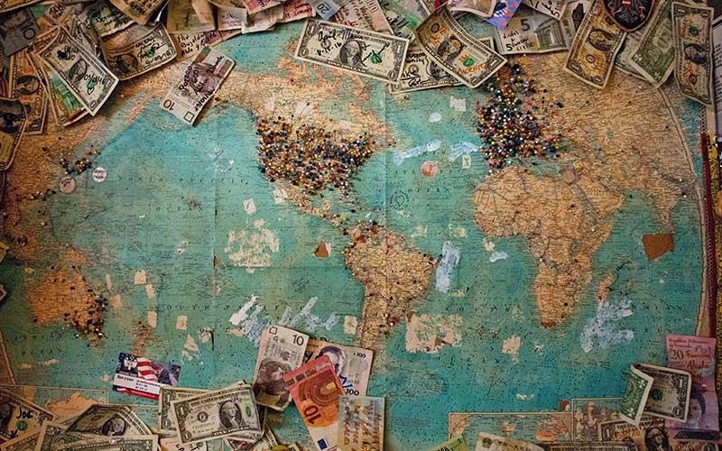 banca che sovvenziona grandi opere, stati, paesi