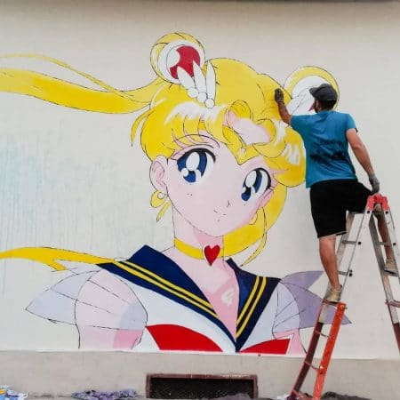 Sailor Moon di Paolo Carriere