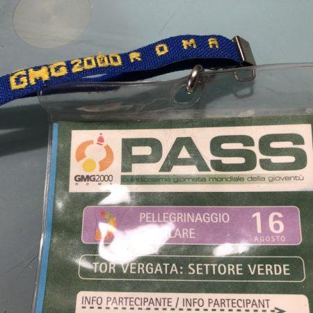 Pass GMG 2000 Roma