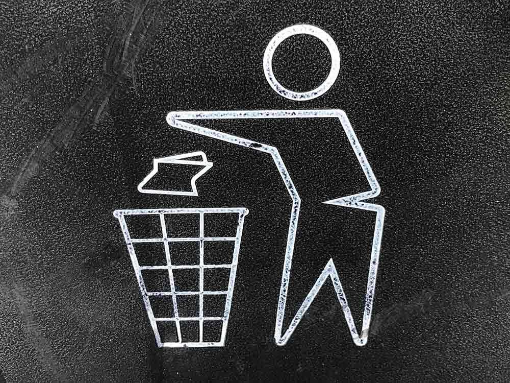 Simbolo della raccolta differenziata della carta