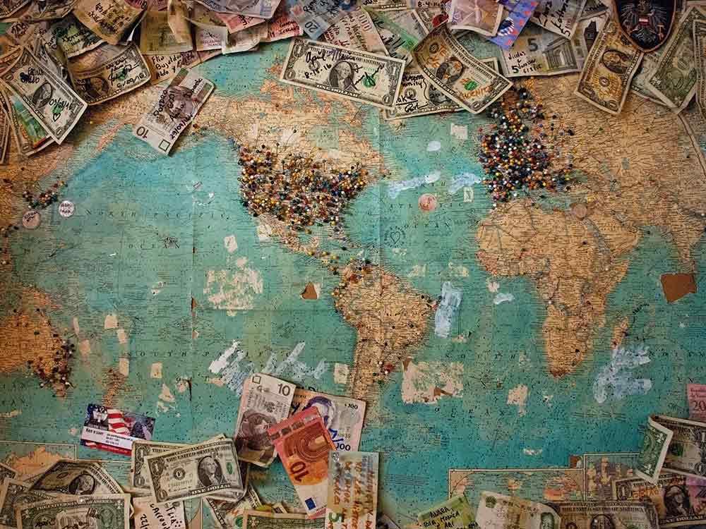 Money Transfer: mappa del mondo delle rimesse dei migranti