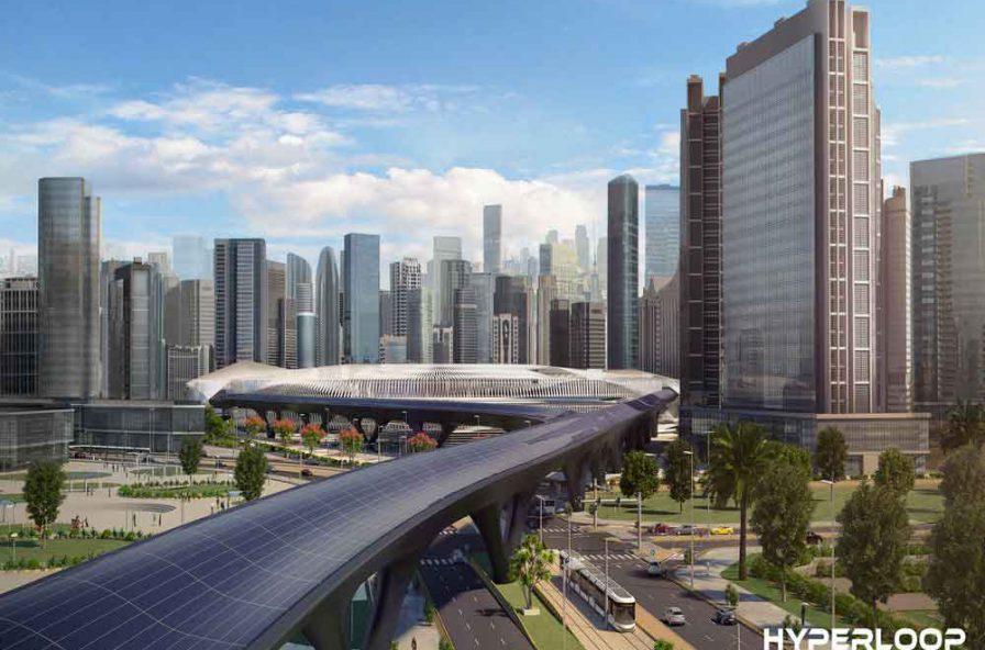 Hyperloop TT Station
