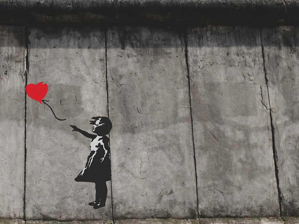 Bambina con il palloncino Banksy