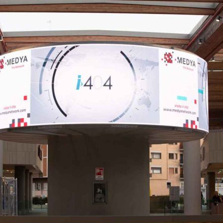 i404.it sul circuito Medya Network, Centro Commerciale Aura