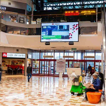 i404.it sul circuito Medya Network, Centro Commerciale Palladio