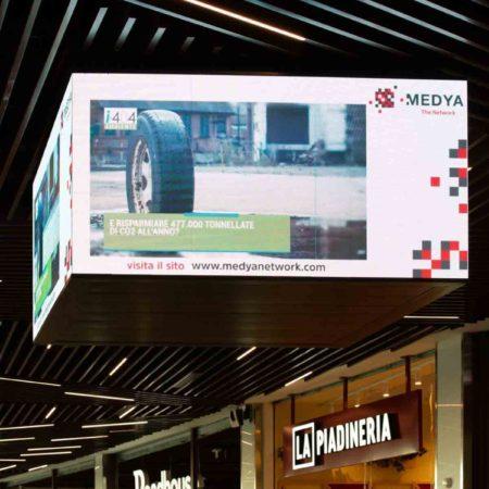 i404.it sul circuito Medya Network, Centro Commerciale GranRoma