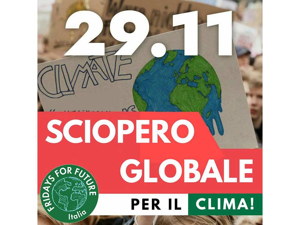 Quarto sciopero globale per il clima, 29 novembre 2019
