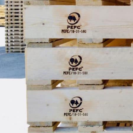 Certificazione pallets PEFC