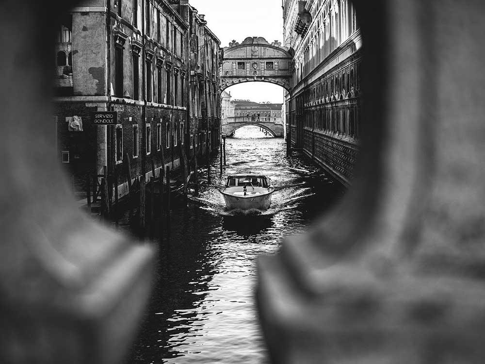 Venezia, vista dal ponte