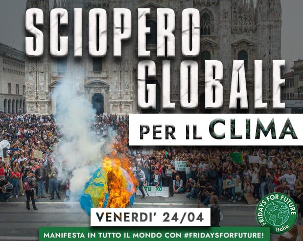 Quinto sciopero globale per il clima