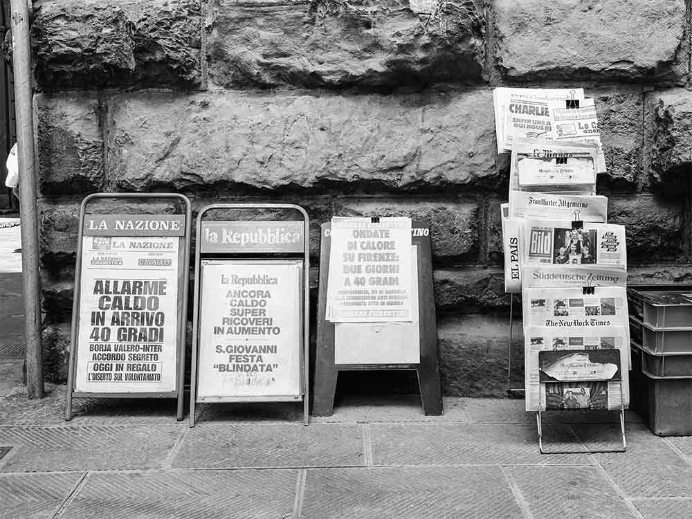 informazione in italia