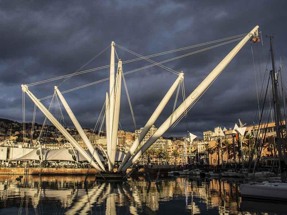 Opere di Renzo Piano a Genova