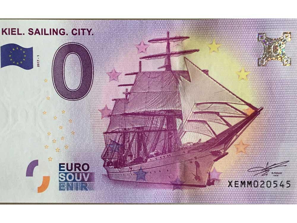 prima banconota 0 euro