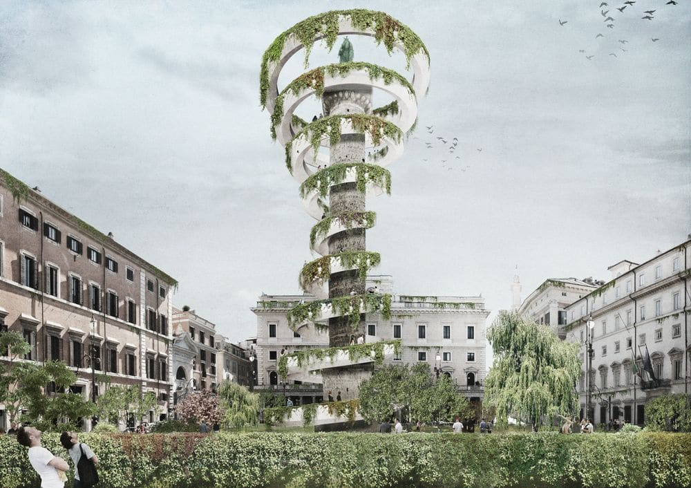 Piazza Colonna by OKS Architetti
