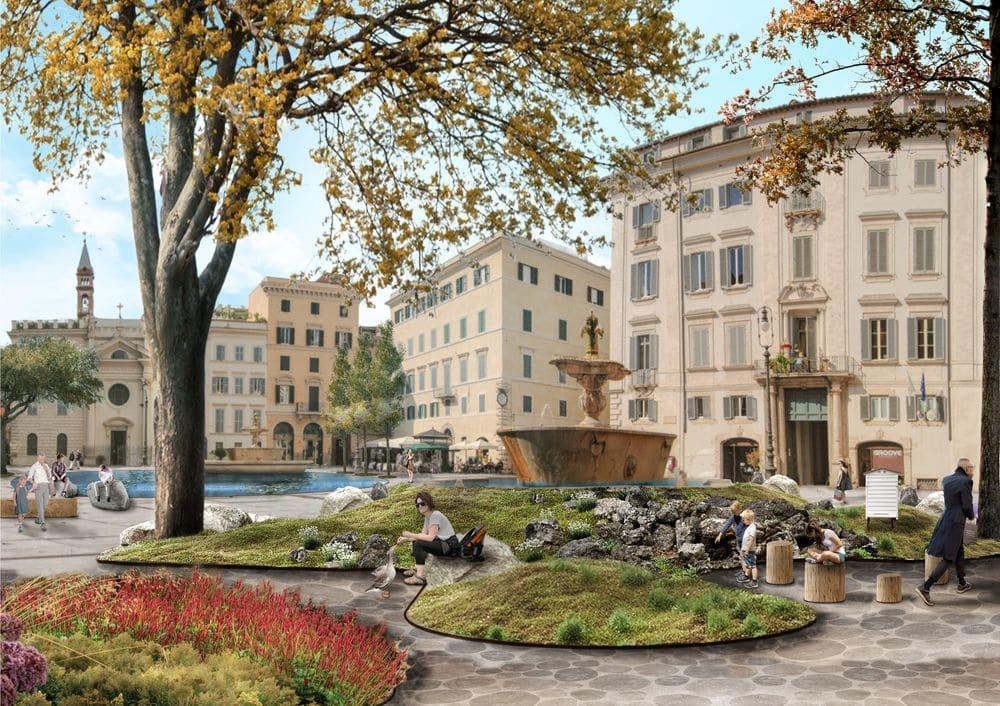 Piazza Farnese by Atelier Quagliotto