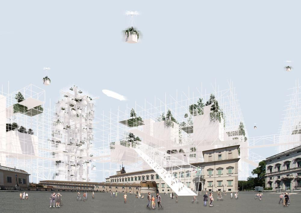 Piazza del Quirinale by Architects for urbanity