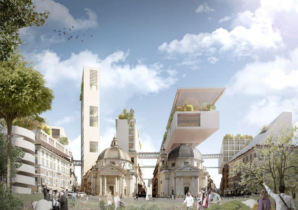 Piazza del popolo by TARI-Architects