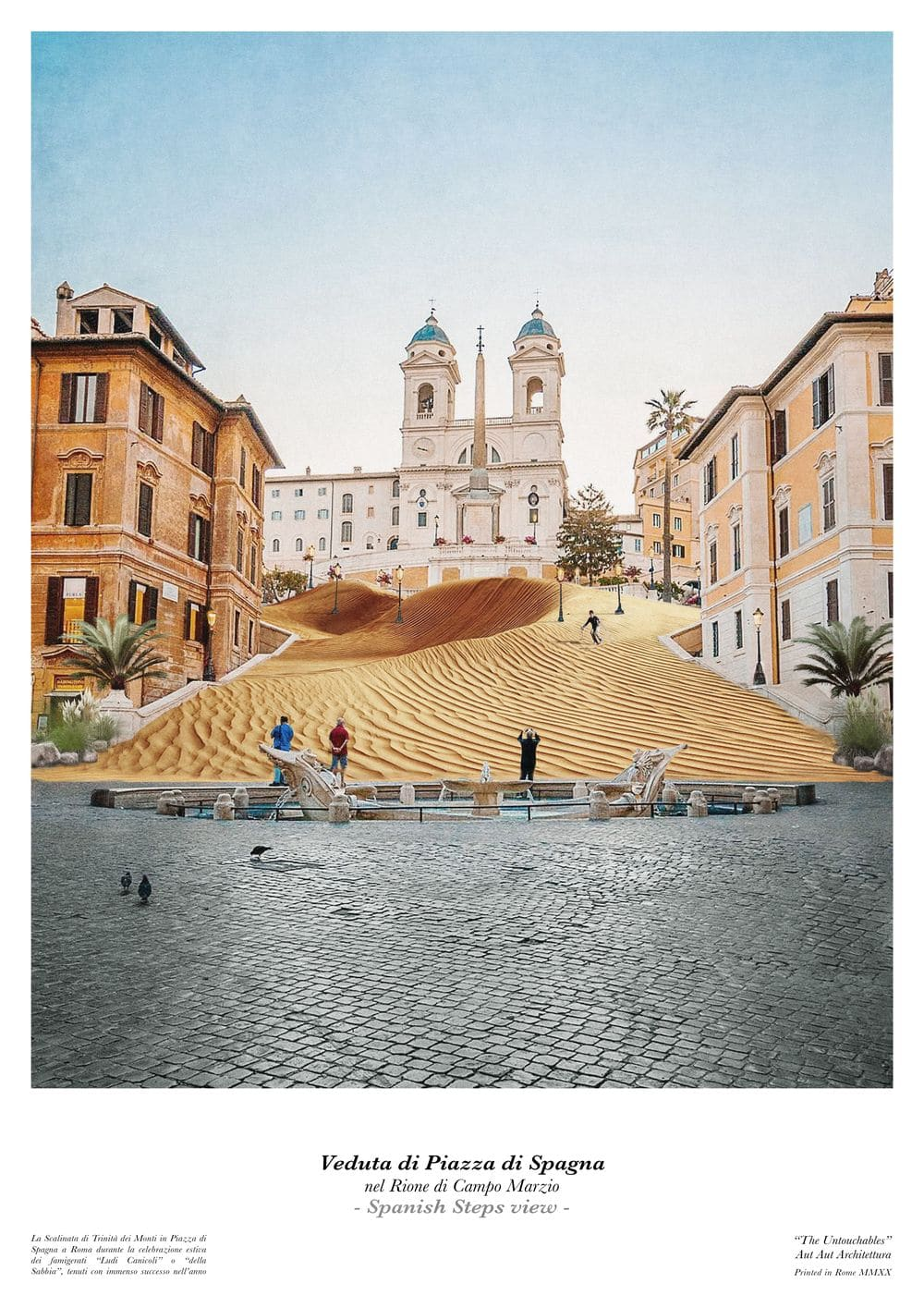 Piazza di Spagna by AUT AUT ARCHITETTURA