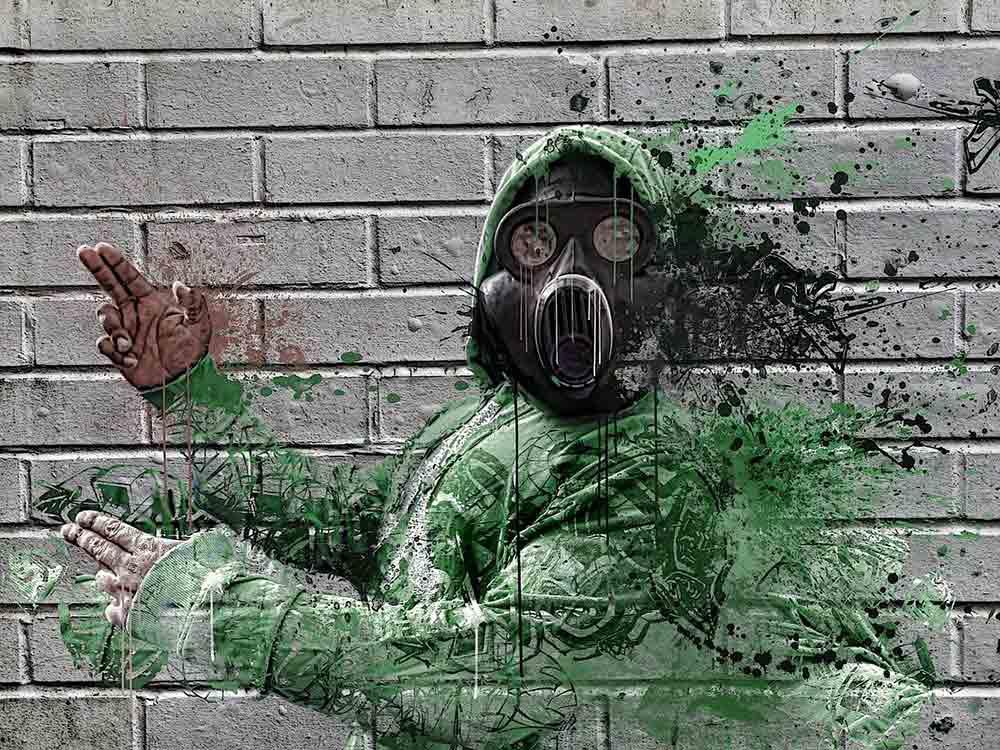 mascherina anti-inquinamento