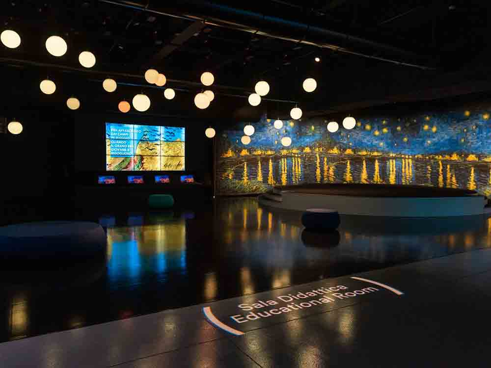 mostra multimediale e immersiva sull'arte di Van Gogh