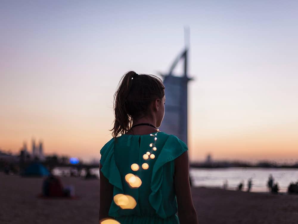spiaggia di Dubai