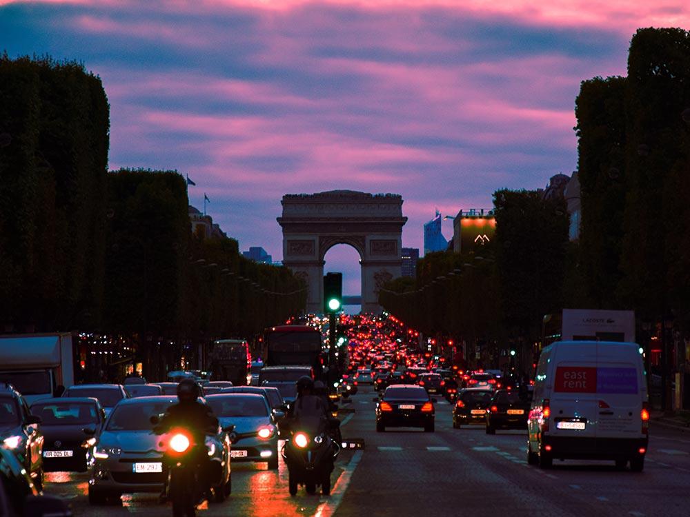 Traffico a Parigi