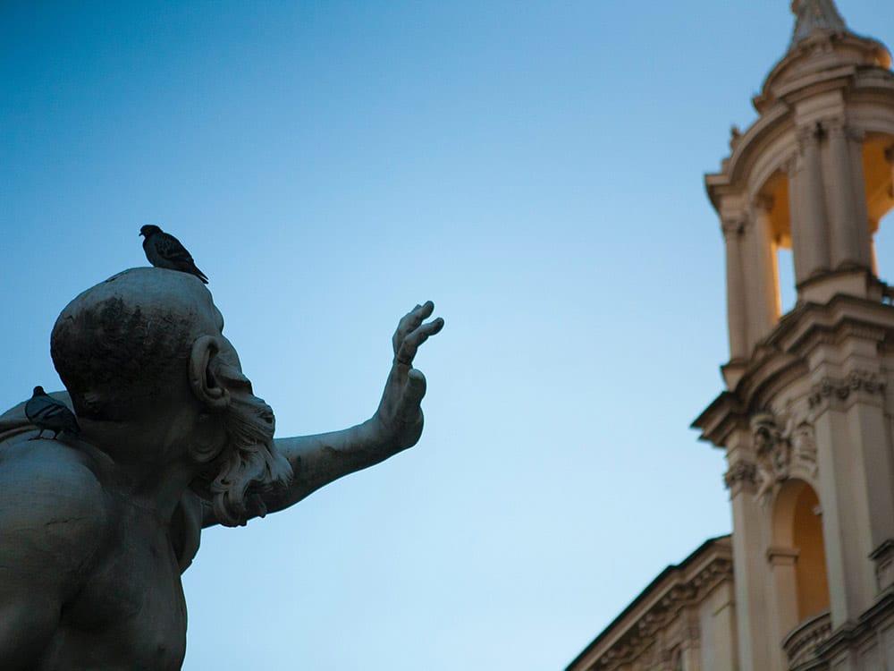 Roma città sporca